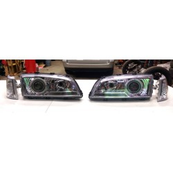 Chrome Projector Headlights with Turn Signals for S70 V70 C70