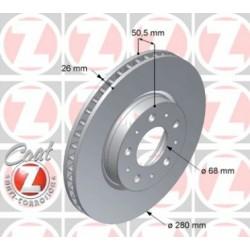 Zimmermann 280mm Front Brake Rotor for 850 S70 V70 C70