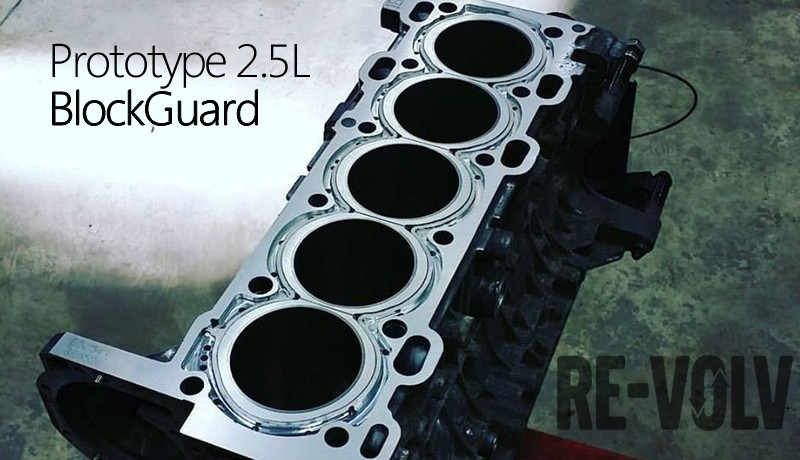 BlockGuard for 2.5L Volvo Engines